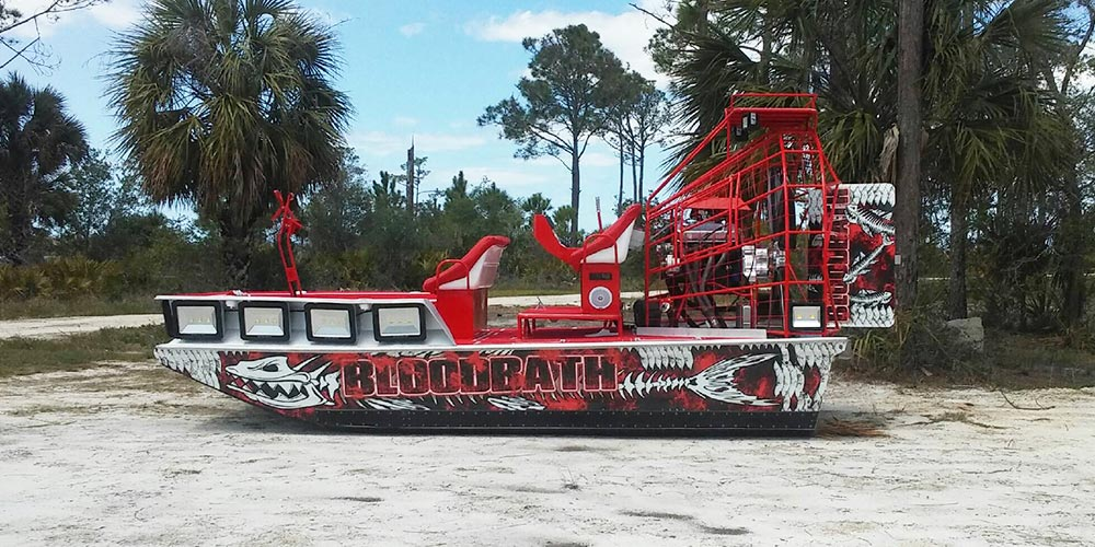 PB High Performance Airboat