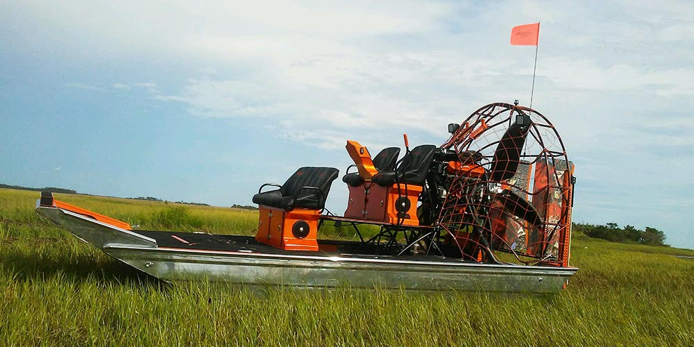 Poorboys Performance Custom Designed Airboat