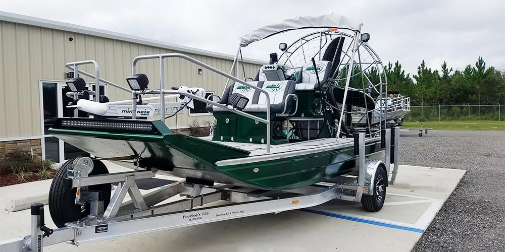High Performance Poorboys Airboat