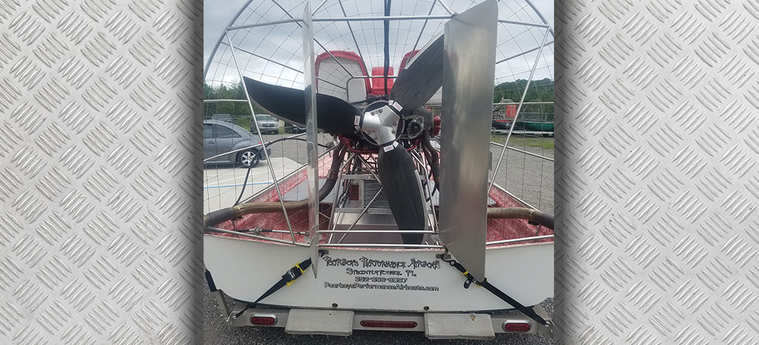 Preowned 2014 Jimmy White Airboat For Sale