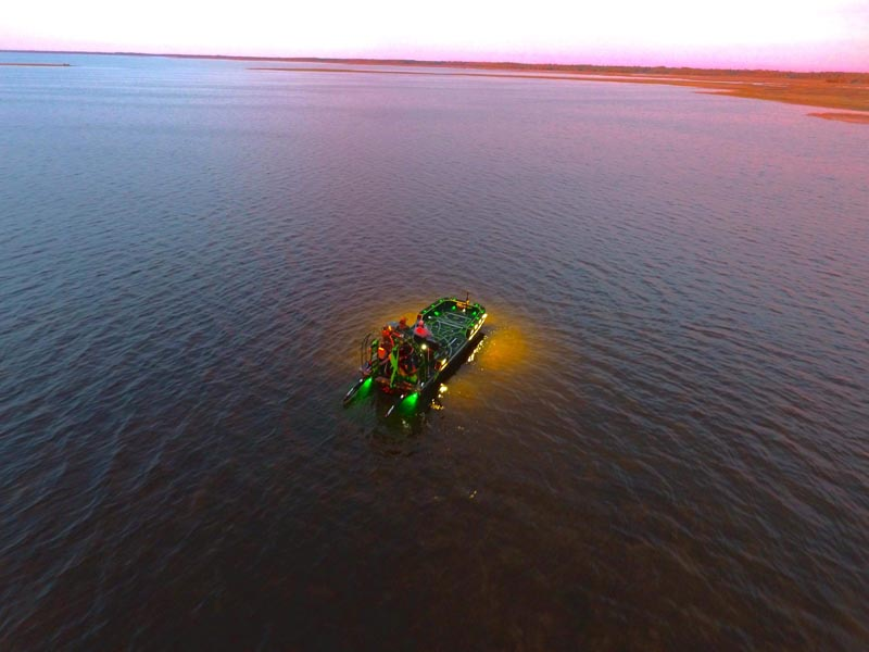 2019 22x9 Bowfishing Airboat