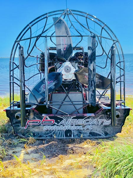 2019 15x8 PB Airboat