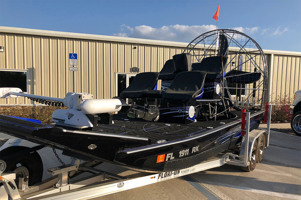 Airboat used sale